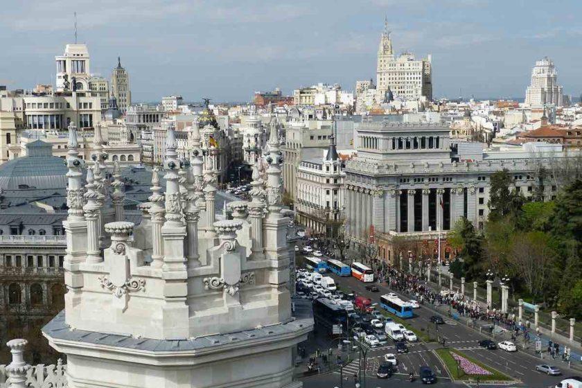 převod peněz z do Španělska