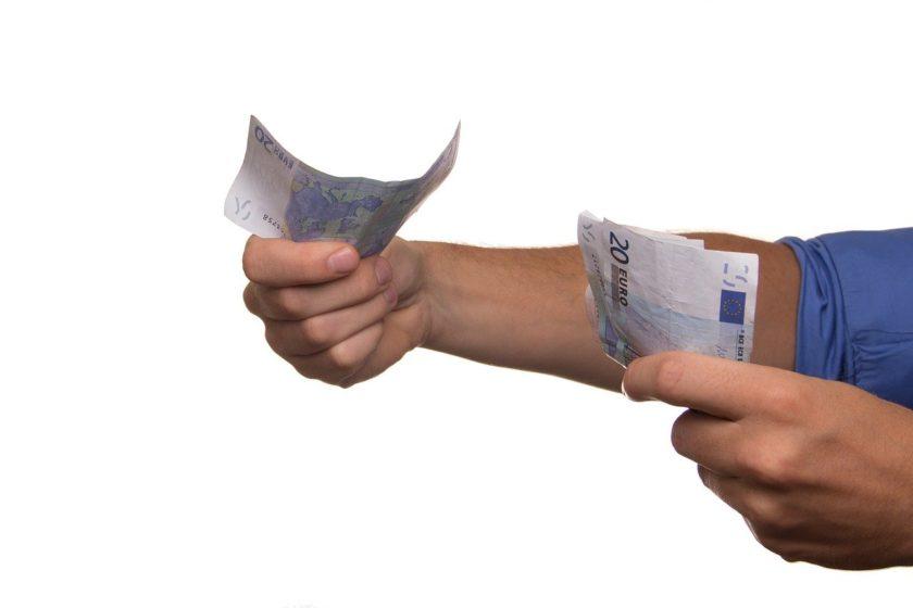 Platba na špatný účet