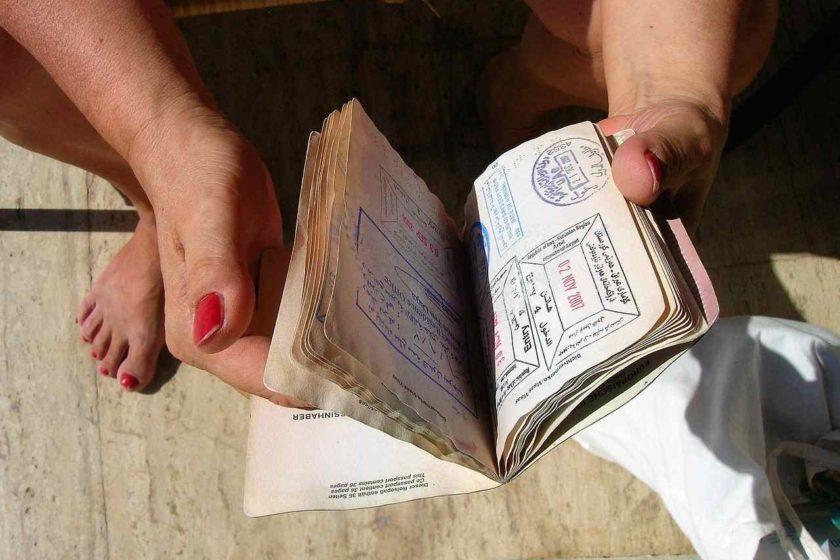 ztráta dokladů v zahraničí